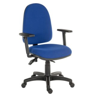 An Image of Dessau High Back Operator Chair With Three Lever Mechanism