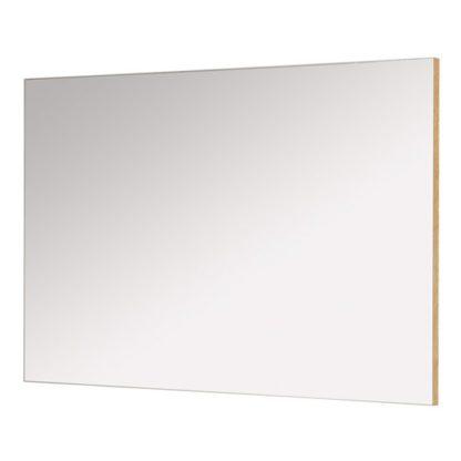 An Image of Westbury Wall Bedroom Mirror With Navarra Oak Frame