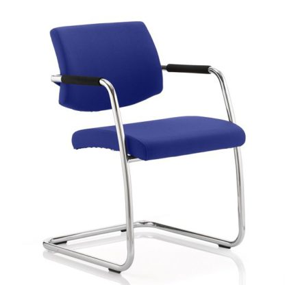 An Image of Marisa Office Chair In Serene With Cantilever Frame