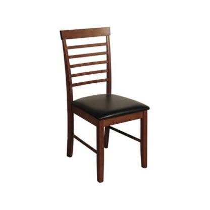An Image of Marsic Dining Chair In Dark Acacia