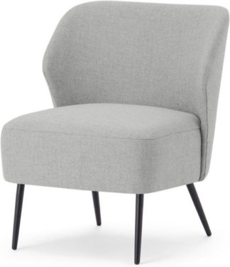 An Image of Topeka Accent Armchair, Luna Grey Weave