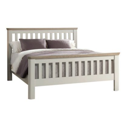 An Image of Empire Painted Wooden Single Bed