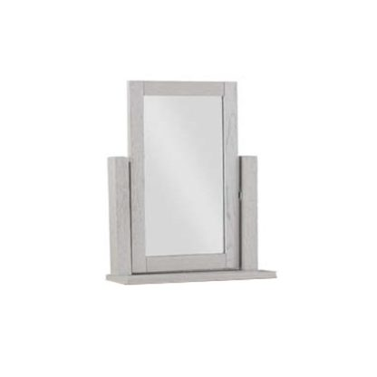 An Image of Tertia Dressing Mirror With Stone Painted Frame