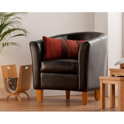 An Image of Oxford Black Tub Chair