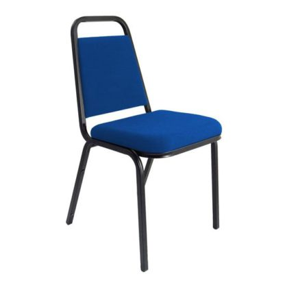 An Image of Banqueting Stacking Office Visitor Chair In Blue