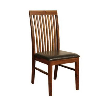An Image of Solaris Dining Chair In Acacia