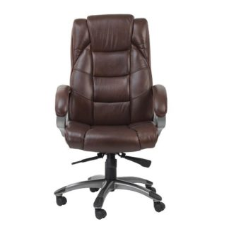 An Image of Nobbler Home And Office Executive Chair In Brown