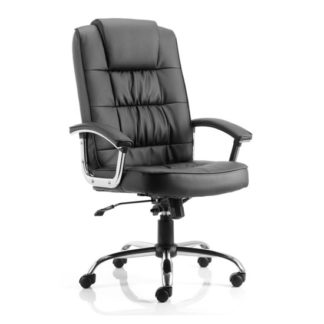 An Image of Moore Leather Office Chair