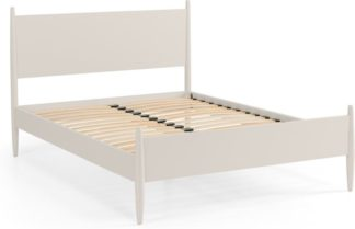 An Image of Camello King Size Bed, Light Grey