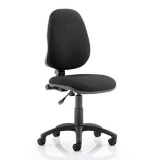 An Image of Eclipse Plus I Office Chair In Black No Arms
