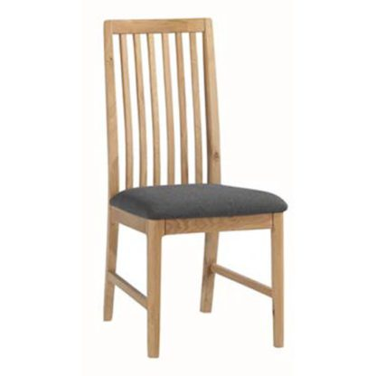 An Image of Trimble Wooden Dining Chair In Oak