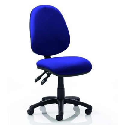 An Image of Luna II Office Chair In Stevia Blue