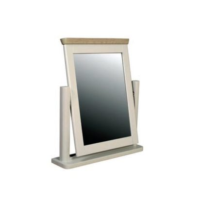 An Image of Empire Dressing Mirror With Painted Frame