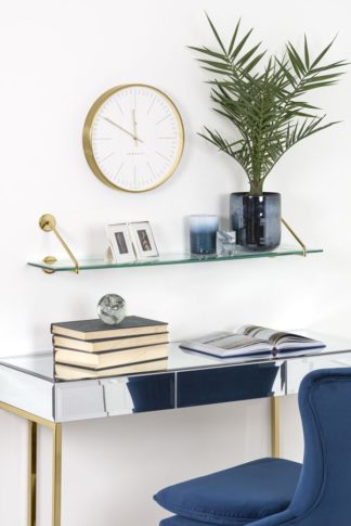 An Image of Cleo Shelf Brass