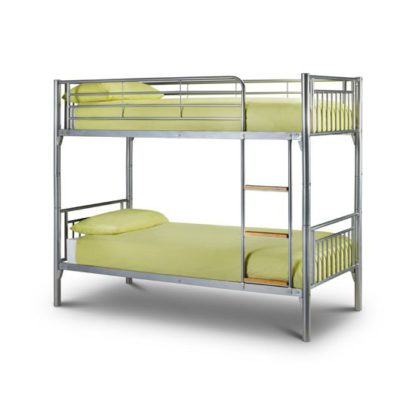 An Image of Atlas Metal Finish Children Bunk Bed