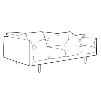 An Image of Levico Medium Sofa