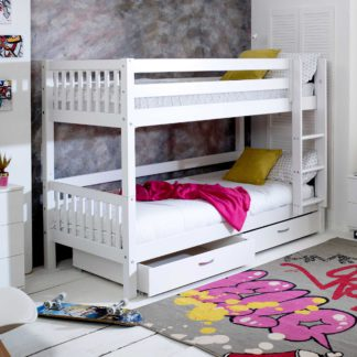 An Image of Ferdie Childrens Bunkbed with under bed Drawers