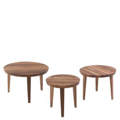 An Image of Riva 1920 Tao Coffee Tables, Walnut