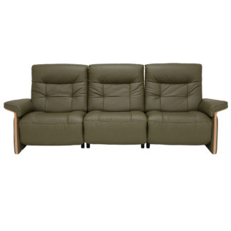 An Image of Stressless Mary 3 Seater Recliner Sofa, Quickship