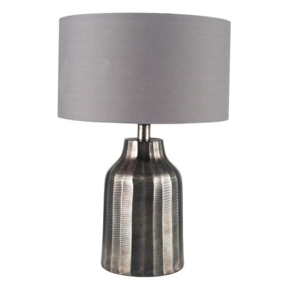 An Image of Hann Table Lamp - Antique Nickel