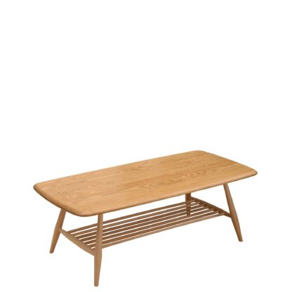 An Image of Ercol Originals Retro Coffee Table, Wood