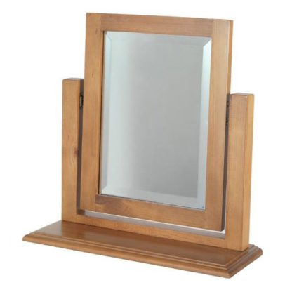 An Image of Herndon Dressing Table Mirror In Lacquered Frame