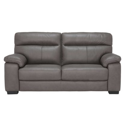 An Image of Clark 3 Seater Leather Sofa