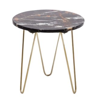 An Image of Marbled Side Table