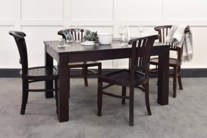 An Image of Lifestyle Dining Table & Langley Chairs Bundle