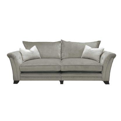An Image of Dorsey Standard Back 4 Seater Split Frame Sofa, Stock