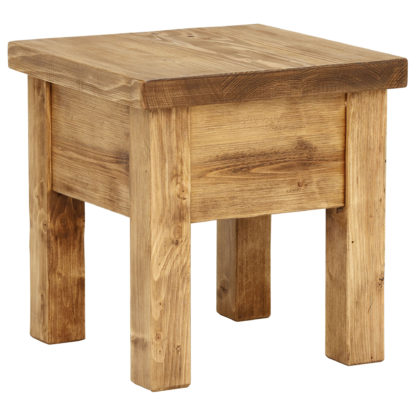 An Image of Covington Reclaimed Wood Lamp Table