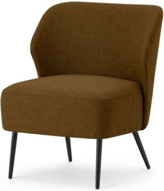 An Image of Topeka Accent Armchair, Terracotta Weave