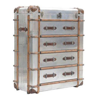An Image of Timothy Oulton Globetrekker Large Chest