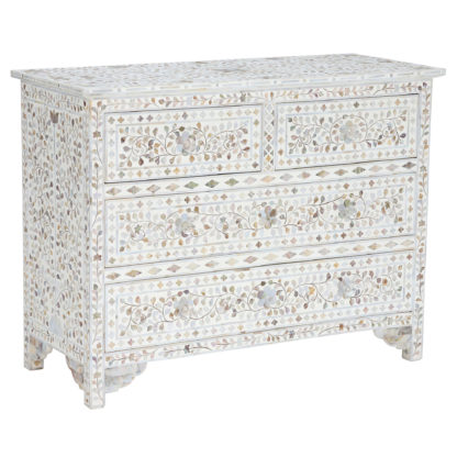 An Image of Clipper Chest Of Drawers, Mother Of Pearl