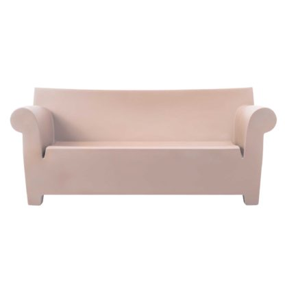 An Image of Kartell Bubble Sofa, Powder