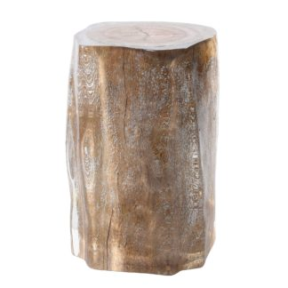 An Image of Timothy Oulton Floem Side Table, Driftwood and Acrylic