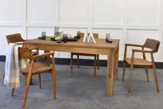 An Image of Lifestyle Dining Table & Milford Chairs Bundle