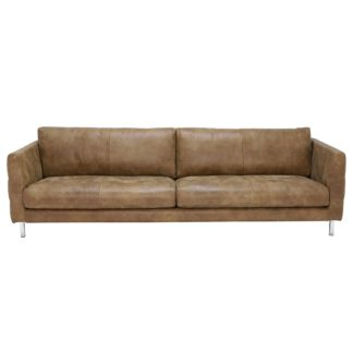 An Image of Lars 5 Seater Leather Sofa
