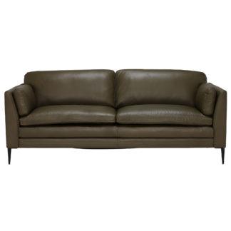 An Image of Zeta Leather Sofa