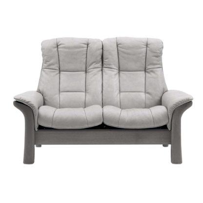 An Image of Stressless Windsor High Back 2 Seater Sofa, Quickship