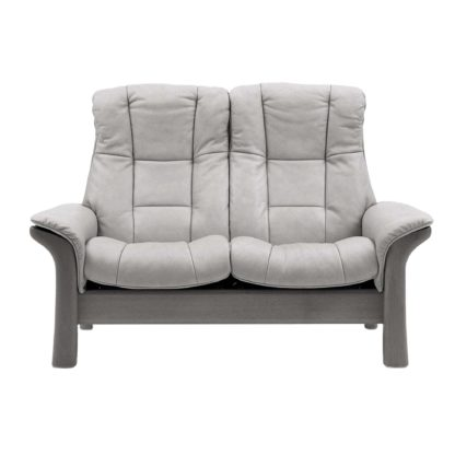 An Image of Stressless Windsor High Back 2 Seater, Choice of Leather