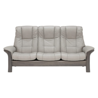 An Image of Stressless Windsor High Back 3 Seater, Choice of Leather