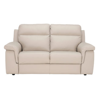 An Image of Fulton 2 Seater Leather Sofa