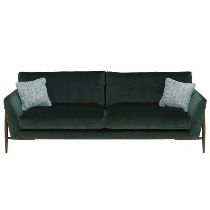 An Image of Ercol Forli Grand Sofa, Velvet