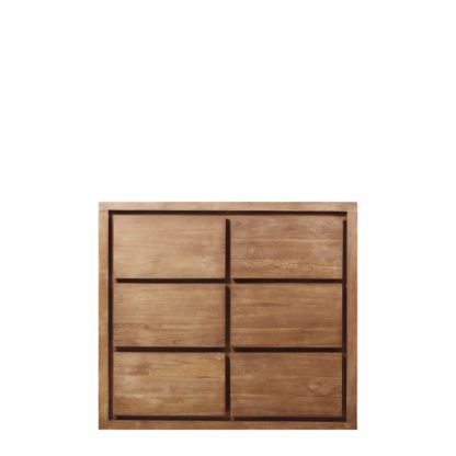 An Image of Hudson 6 Drawer Chest