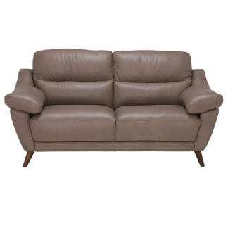 An Image of Comino Leather Love Seat