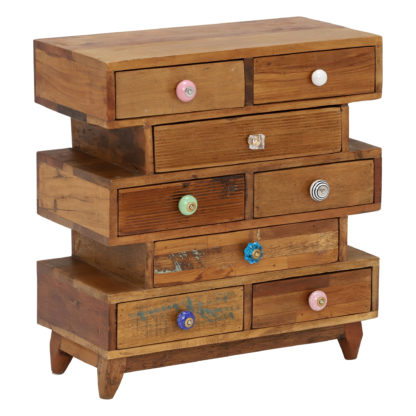 An Image of Little Tree Furniture Shimla 8 Drawer Multi Chest