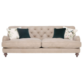 An Image of Windermere Leather Extra Large Sofa