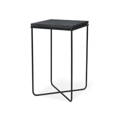 An Image of Lava Stone Side Table