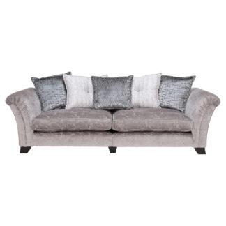 An Image of Prestbury 4 Seater Pillow Back Split Frame Sofa